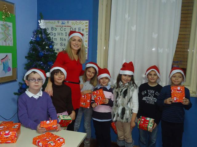 Božićna priredba u Pappagallo školi jezika